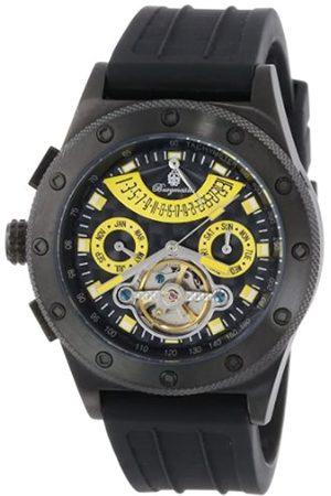 Burgmeister Burgmeister Armbanduhr für Herren mit Analog Anzeige, Automatik-Uhr und Silikonarmband - Wasserdichte Herrenuhr mit zeitlosem