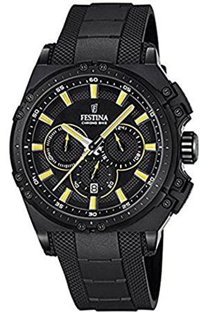 Festina Festina Herren Chronograph Quarz Uhr mit Kautschuk Armband F16971/3