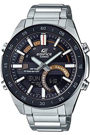 Casio CASIO Herren Analog – Digital Quarz Uhr mit Edelstahl Armband ERA-120DB-1BVEF