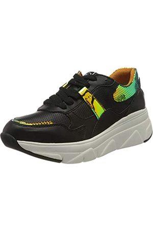 Tamaris Damen 1-1-23741-24 Sneaker, (Black Comb 98)