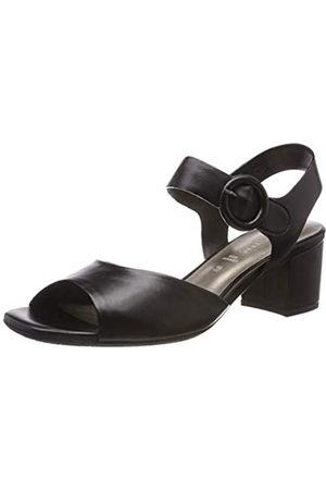 Gerry Weber Shoes Damen Faro 01 Slingback Sandalen, Schwarz (Schwarz 100)