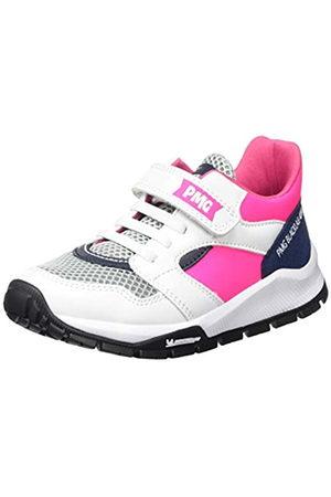 Primigi Damen Scarpa Bambina SUOLA Michelin Hohe Sneaker, Pink (Bianco/Fuxia FL 5440700)