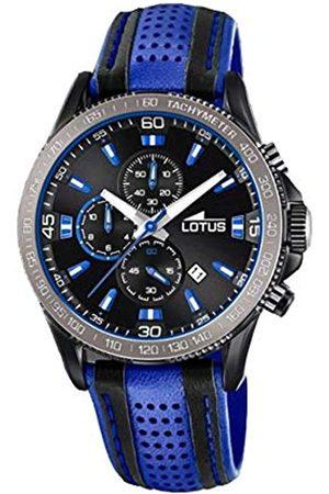 Lotus Lotus Herren Analog Quarz Uhr mit Leder Armband 18592/2