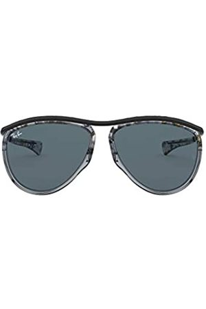 Ray-Ban Ray-Ban Unisex-Erwachsene Aviator Olympian RB2219-1286R5 Sonnenbrille, Havana Grey Schwarz