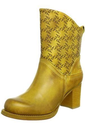 Yellow Cab Harvey Y28053, Damen Stiefel, (Yellow)