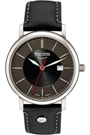 Soehnle Bruno Söhnle Herren Analog Quarz Uhr mit Leder Armband 17-13138-741