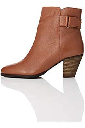 FIND Find. Damen #_Maud Chelsea Boots Stiefeletten, Braun (Brandy Brandy)