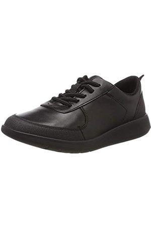 Clarks Jungen Scape Street K Brogues, (Black Leather)