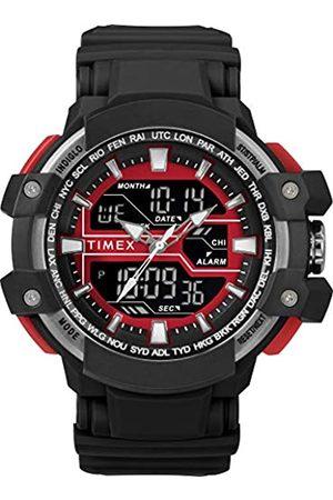 Timex Herren Digital Uhr mit Harz Armband TW5M22700