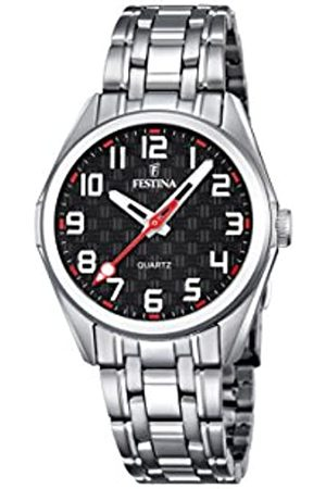 Festina Festina Unisex Analog Quarz Uhr mit Edelstahl Armband F16903/3