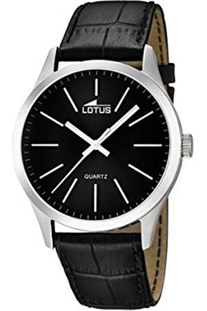 Lotus Lotus Herren Analog Quarz Uhr mit Leder Armband 15961/3