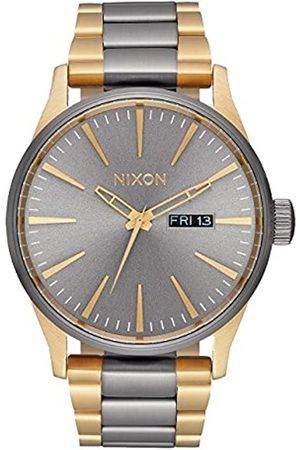 Nixon Nixon Herren Analog Quarz Smart Watch Armbanduhr mit Edelstahl Armband A356-595-00