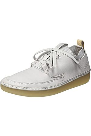 Clarks Damen Nature IV. Sneaker, (Ice Blue Leather)