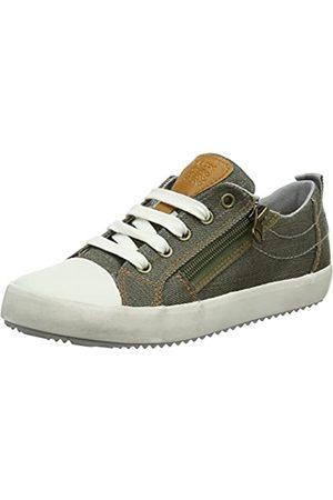 Geox Jungen J Alonisso D Low-top Sneaker, (Military/Grey)