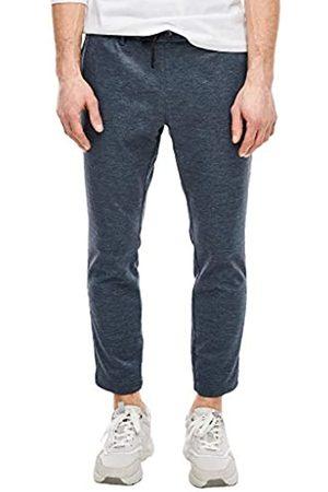 s.Oliver S.Oliver RED LABEL Herren Slim Fit: Cropped Jogpants blue melange 38.34