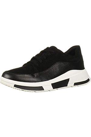 FitFlop Damen Freya Suede Slip On Sneaker, (Black 001)