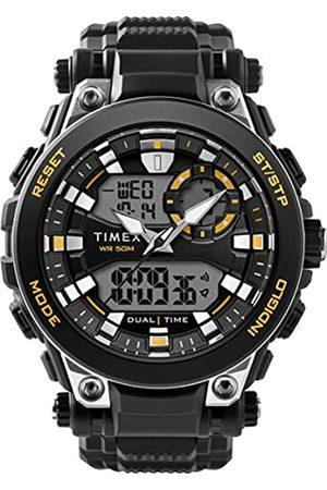 Timex Herren Analog-Digital Quarz Uhr mit Stoff Armband TW5M30500