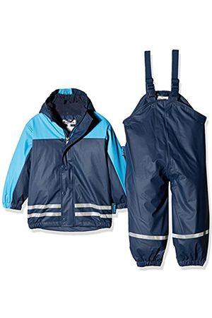 Playshoes Playshoes Regenanzug-Set mit Fleece gefüttert, Jungen Matsch-Anzug 2-teilig, wind- und wasserdicht