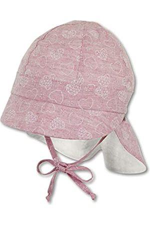 Sterntaler Baby-Mädchen Schirmmütze mit Nackenschutz Mütze