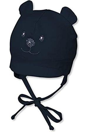Sterntaler Jungen Hüte - Schirmmütze für Jungen mit Bindebändern, Nackenschutz und niedlichem Bärchen-Motiv, Alter: 5-6 Monate, Größe: 43