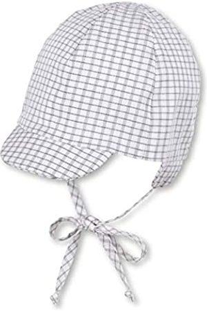 Sterntaler Jungen Hüte - Baby-Jungen Schirmmütze Bindebändern, Ohrenklappen und Gittermuster Mütze