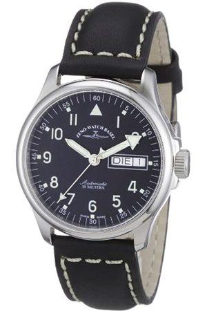 Zeno Zeno Watch Basel Unisex-Armbanduhr Basic Analog Automatik Leder 12836DDN-a1