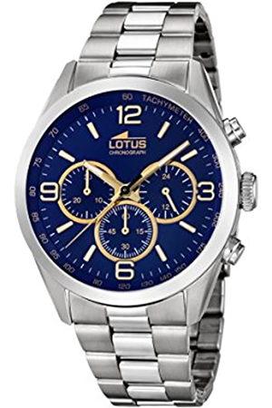 Lotus Lotus Herren Analoger Quarz Uhr mit Edelstahl Armband 18152/6