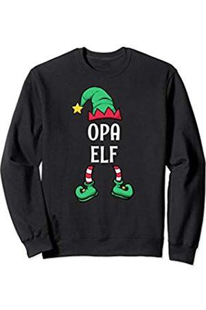 Partnerlook Weihnachten Familien Outfits by KaMi Opa Elf Partnerlook Familien Outfit Männer Weihnachten Sweatshirt