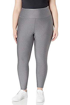 Amazon Plus Size Performance High-Rise 7/8 athletic-leggings, Charcoal Heather