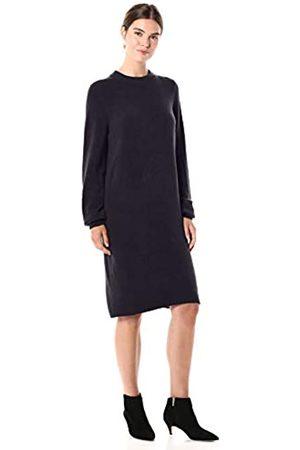 Daily Ritual Daily Ritual Mid-Gauge Stretch Crewneck Sweater Dress sweaters