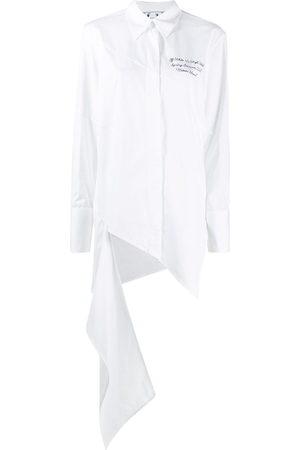 OFF-WHITE Drapiertes Hemd