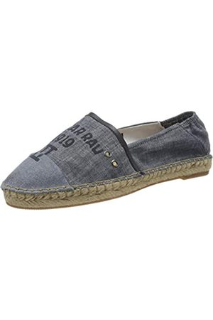 G-Star G-STAR RAW Damen Base Denim Espadrilles, Blau (dk Aged A608-89)