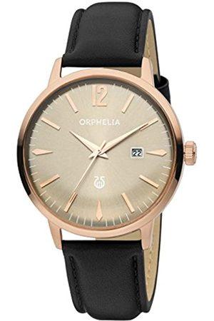 ORPHELIA Orphelia Herren-Armbanduhr Zoom Analog Quarz Leder