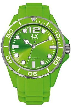 Haurex Haurex Herren Analog Quarz Uhr mit Gummi Armband SV382UV1