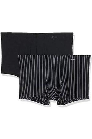 Skiny Herren Unterhose 2er Pack Hipster, Mehrfarbig (Blackstone Selection 2516)