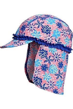 Playshoes Mädchen Mütze Bademütze Veilchen mit UV-Schutz