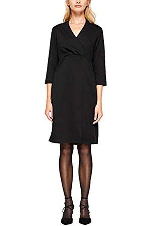 s.Oliver S.Oliver LABEL Damen Jerseykleid mit Wickeleffekt 40