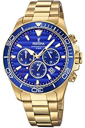 Festina Festina Herren Chronograph Quarz Uhr mit Edelstahl Armband F20364/2