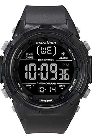 Timex Timex Herren Digital Uhr mit Harz Armband TW5M22300