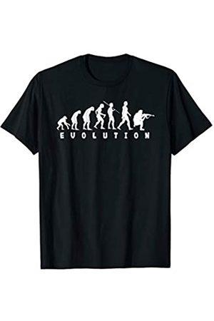Was Mich Nicht Umbringt Sollte Rennen Herren Soldaten Evolution Fallschirmjäger Geschenk Kameraden Soldat T-Shirt