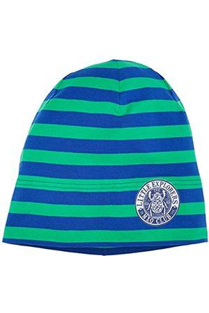 maximo Jungen Hüte - Jungen Beanie Middle, 2-Farbringel, Reflexmotiv Mütze