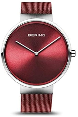 Bering BERING Unisex-Armbanduhr Analog Quarz Uhr mit Edelstahl Armband 14531-303