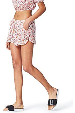 FIND Amazon-Marke: find. Damen Shorts mit Lochstickereien, 36
