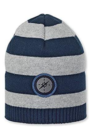 Sterntaler Jungen Hüte - Strickmütze für Jungen mit Streifenmuster und Kompassmotiv, Alter: ab 9-12 Monate