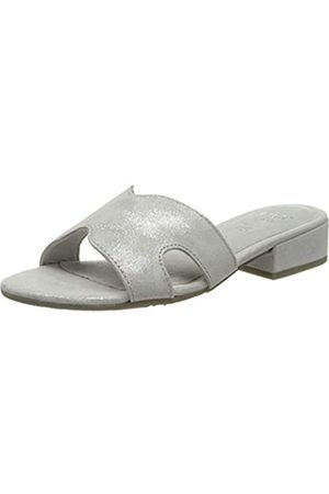 Jana 100% comfort Jana 100% comfort Damen 8-8-27102-24 Pantoletten, Grau (Grey/Silver 212)