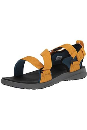 Columbia Herren Sandalen, Blau (Petrol Blue, Golden Yellow 403)