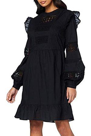 FIND Damen Freizeitkleider - Amazon-Marke: Damen Ausgestelltes Minikleid aus Spitze, 36