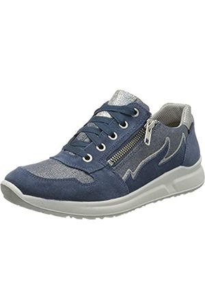Superfit Superfit Mädchen Merida Sneaker, Blau (Blau 80)
