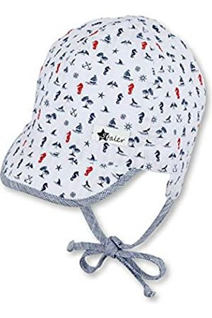 Sterntaler Jungen Hüte - Baby-Jungen Schirmmütze Bindebändern, Ohrenklappen und maritimen Motiven Mütze