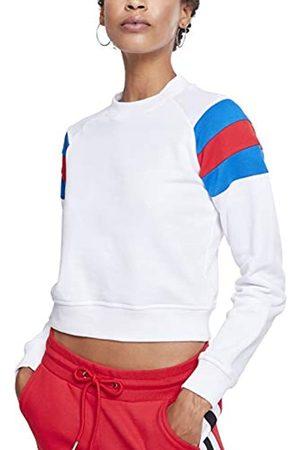 Urban classics Damen Ladies Sleeve Stripe Crew Sweatshirt
